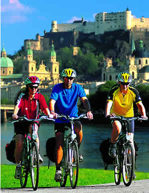 Europe Bicycle Tour - Salzburg to Prague