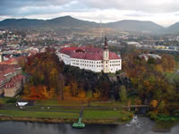 The city of Decin